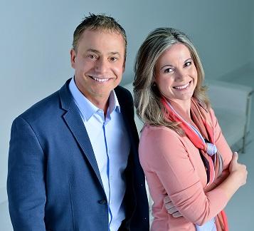 Robert Schott and sister Paula Hemani